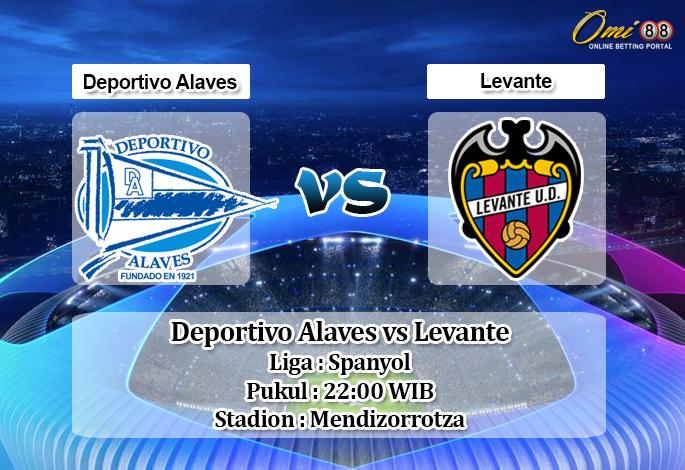 Prediksi Deportivo Alaves vs Levante 18 Agustus 2019