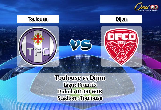 Prediksi Toulouse vs Dijon 18 Agustus 2019