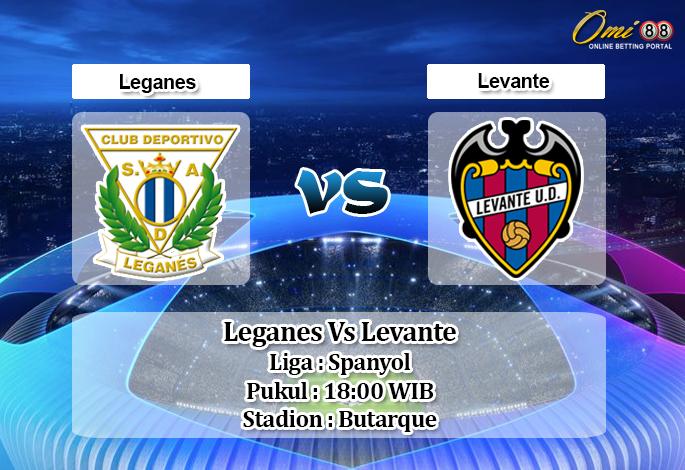 Prediksi Skor Leganes Vs Levante 5 Oktober 2019 Bosbobet