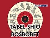 tabel shio bosbobet