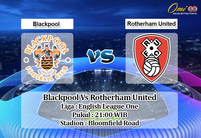 Prediksi Blackpool Vs Rotherham United 12 Oktober 2019