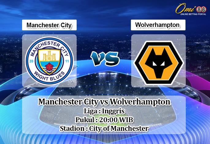 Prediksi Skor Manchester City Vs Wolverhampton 6 Oktober