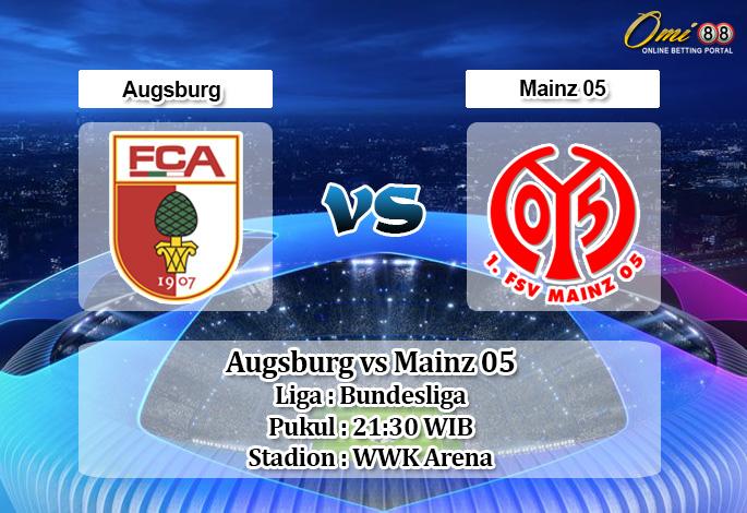 Prediksi Augsburg vs Mainz 05 7 Desember 2019