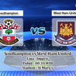 Prediksi Southampton vs West Ham United 15 Desember 2019