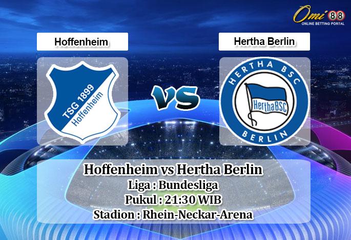 Hoffenheim vs Hertha Berlin perkiraan 14 Maret 2020