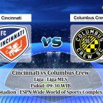 Prediksi Cincinnati vs Columbus Crew 12 Juli 2020