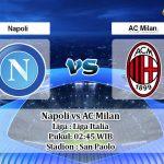 Prediksi Napoli vs AC Milan 13 Juli 2020