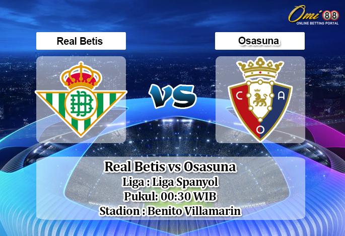 Prediksi Real Betis vs Osasuna 9 Juli 2020