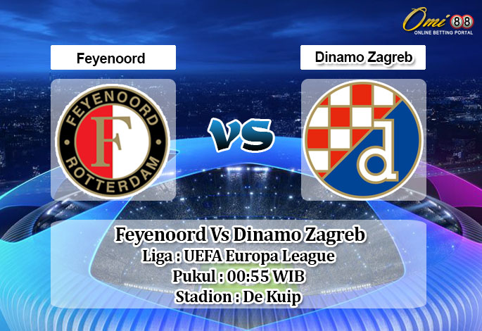 Prediksi Skor Feyenoord Vs Dinamo Zagreb 4 Desember 2020 Qqtogel88